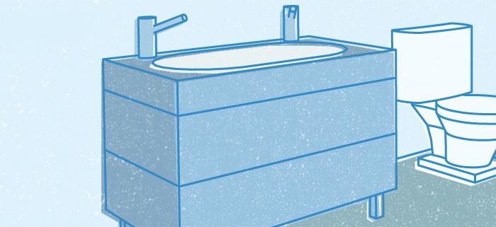 Conseils salle de bain et salle de lavage tips tricks for Armoire de salle de bain rona
