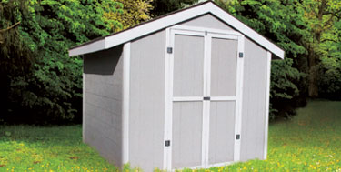 Garden Sheds Edmonton shed packages - how to build your own shed | rona diy packages